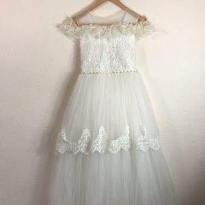 Other - First Communion Flower Girl dress girls size 14